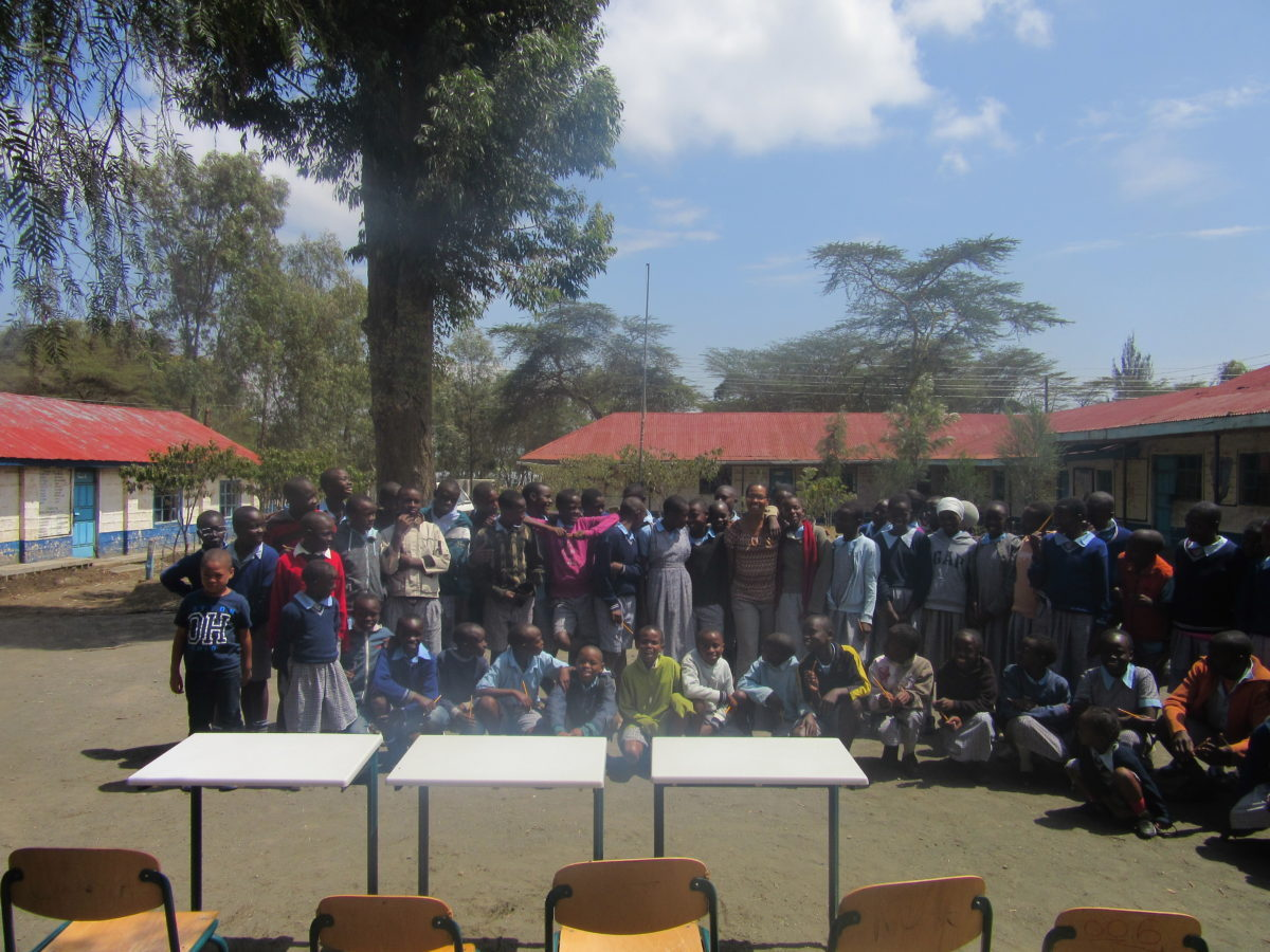 Work with Longobot D.E.B Primary School in Kenya