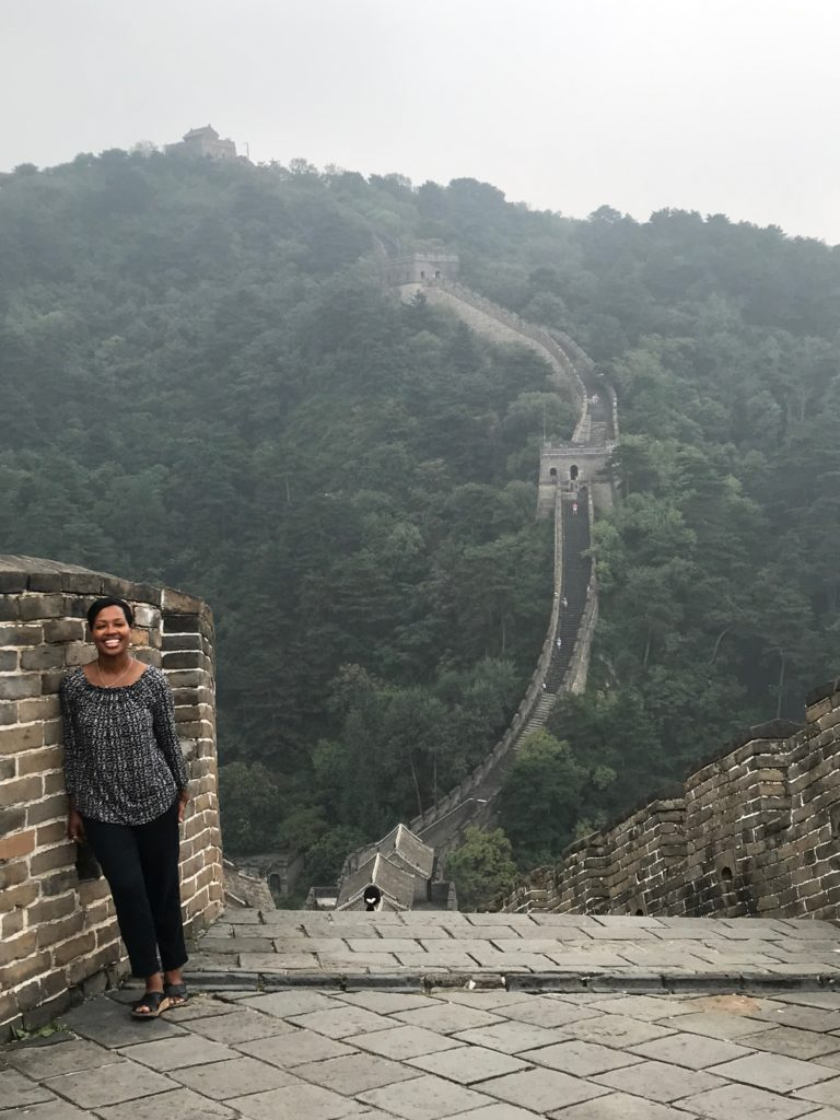 At the Great Wall Of China (Taking a little break from our open enrollment courses in Beijing & Shanghai)
