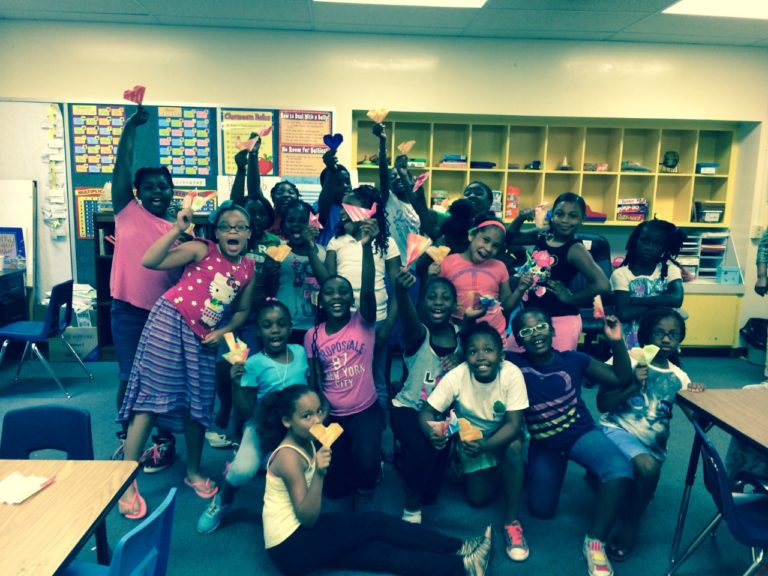 Origami workshop for girls in South Carolina